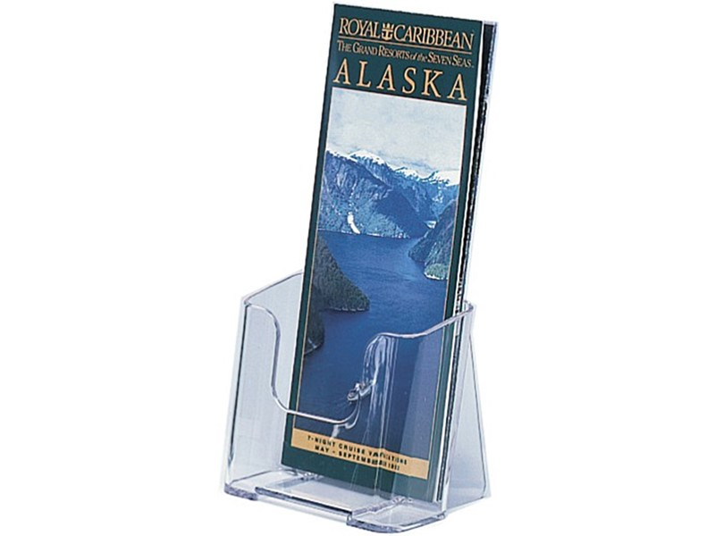 Free Standing Single-Pocket Brochure Holders