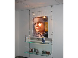 Shelving Systems & Signage Displays